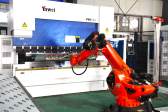POUL TECH import KUKA intelligent 80KG flexible bending system from Germany