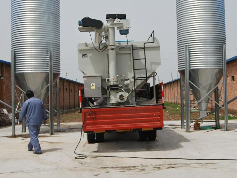 Galvanized sheet metal tower, Galvanized Sheet Silo