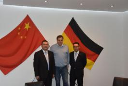 Henan Poul Tech Machinery Co., Ltd and Germany FIENHAGE officially signed the